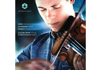 Smart,Callum/Back,Gordon - Violinsonate 2/Poème/Sonate in A-Dur - (CD)