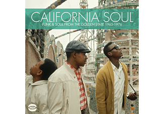VARIOUS - California Soul-Funk & Soul From The Golden Stat - (CD)