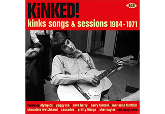 VARIOUS - Kinked! Kinks Songs & Sessions 1964-1971 [CD]