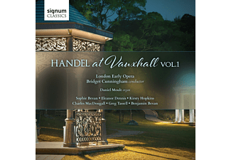 Cunningham, London Early Opera - Handel At Vauxhall Vol.1 - (CD)