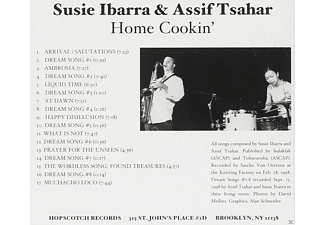 Susie Ibarra, Assif Tsahar - Home Cookin' - (CD)