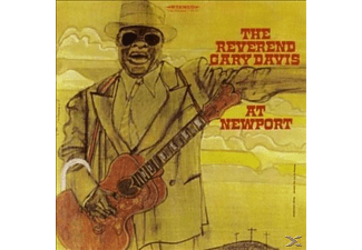The Reverend Garry Davis - Live At Newport - (CD)