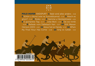 Polo Hofer - Ändspurt - (CD)