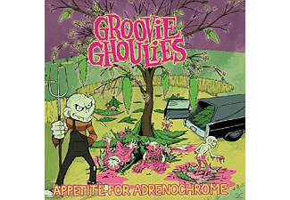 Groovie Ghoulies - Appetite For Adrenochrome [CD]
