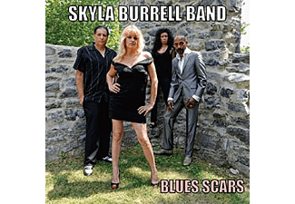 Skyla Burrell Band - Blues Scars - (CD)