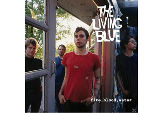 Living Blue - Fire, Blood, Water - (CD)