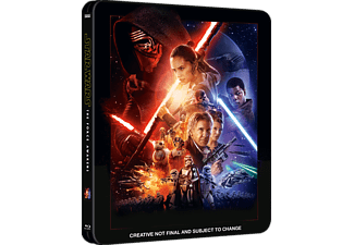 Star Wars: Episode VII - The Force Awakens - Steelbook Science Fiction Blu-ray