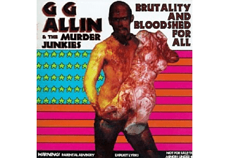 G.G. Allin - Brutality And Bloodshed For All - (CD)