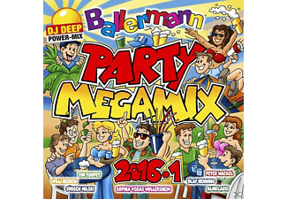VARIOUS - Ballermann Party Megamix 2016.1 [CD]