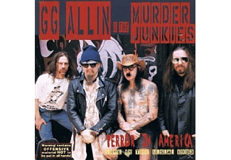 G.G. Allin - Terror In America - (CD)