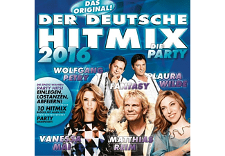 VARIOUS - Der Deutsche Hitmix - Die Party 2016 - (CD)