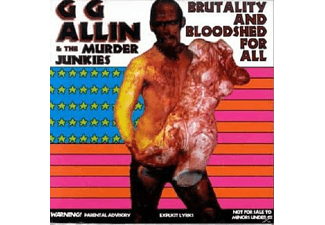 G.G. Allin - Brutality And Bloodshed For All - (Vinyl)