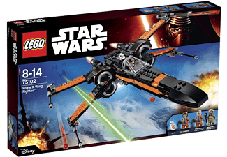Poe's X-Wing Fighter - (75102)