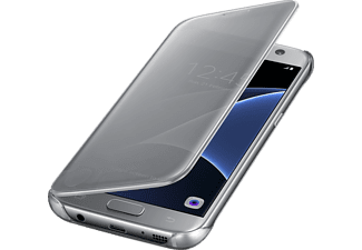 SAMSUNG CLEAR VIEW COVER GALAXY S7 - Silver