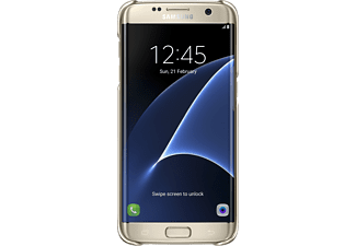 SAMSUNG CLEAR COVER GALAXY S7 EDGE - Guld