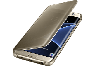 SAMSUNG CLEAR VIEW COVER GALAXY S7 Edge - Guld