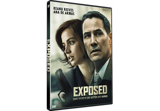 Exposed Thriller DVD