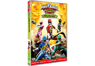 Power Rangers Dino Charge: Unleashed Äventyr DVD