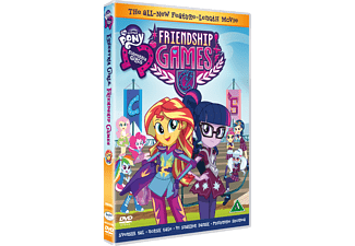 My Little Pony Equestria Girls - Friendship Games Barn DVD