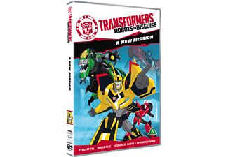 Transformers: Robots in Disguise - A New Mission Barn DVD