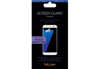 TELILEO 3754 Galaxy S7 Edge Schutzfolie, Transparent
