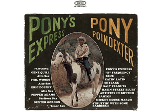 Pony Poindexter - Pony's Express [CD]