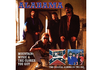 Alabama - Mountain Music & The Closer You Get (CD)