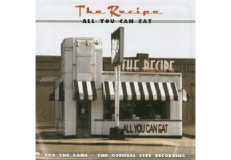 Recipe - All You Can Eat (Live) - (CD)