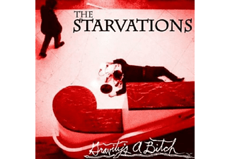 The Starvations - Gravity's A Bitch - (CD)