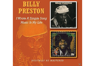 Billy Preston - I Wrote A Simple Song / Music Is My Life - (CD)