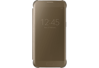 SAMSUNG Clear View Cover Galaxy S7 Goud