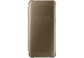 SAMSUNG Clear View Cover Galaxy S7 edge Goud