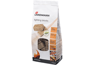 LANDMANN Tändblock Green power & FSC 72st 13838