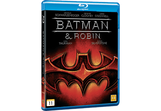 Batman & Robin Action Blu-ray