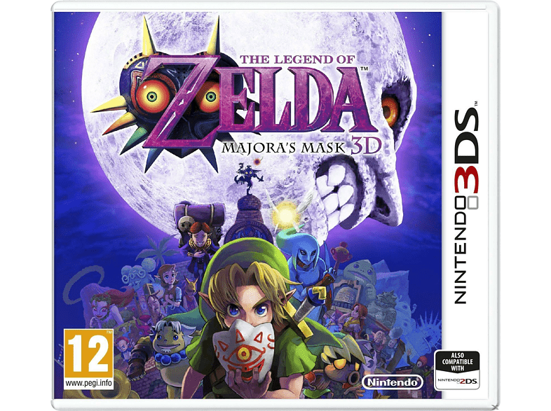 The Legend Of Zelda: Majoras Mask gaming games nintendo 2ds  3ds games gaming φορητές κονσόλες games 2ds  3ds gami