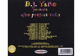 Dj Yano - Afro Project Vol.4 - (CD)