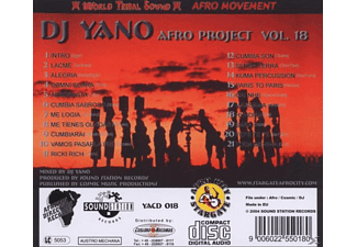 Dj Yano - Afro Project Vol. 18 - (CD)