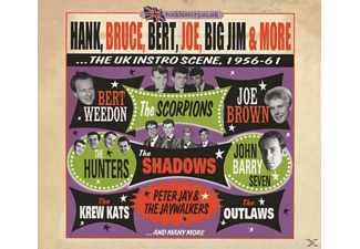 VARIOUS - Hank, Bruce, Bert, Joe, Big Jim & More [CD]