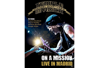 Michael Temple Of Rock Schenker's - On A Mission-Live In Madrid - (DVD)