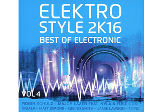 VARIOUS - Elektro Style 2k16-Best Of Electronic & Deep House - (CD)