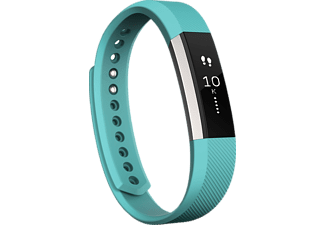 FITBIT  ALTA, Fitness Armband, 170 - 205 mm, Flexibles, beständiges Elastomer, Türkis