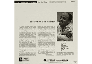 Ben Webster - Soul Of Ben Webster - (Vinyl)