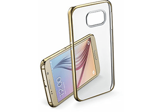 CELLULAR LINE Clear Crystal case Galaxy S7 Gold - (CLEARCRYGALS7H)
