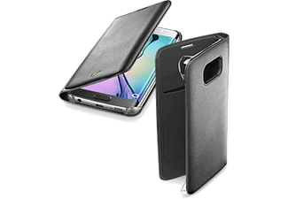 CELLULAR LINE Flip Book Case Galaxy S7 Edge Black - (BACKBOOKGALS7EK)
