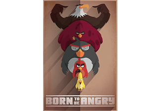 Angry Birds Poster Born To Be Angry