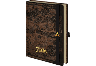 The Legend Of Zelda Premium Notizbuch Din A 5 Hyrule
