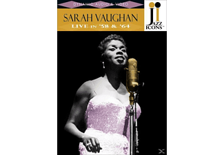 Sarah Vaughn - Jazz Icons: Sarah Vaughan Live In '58 & '64 [DVD]