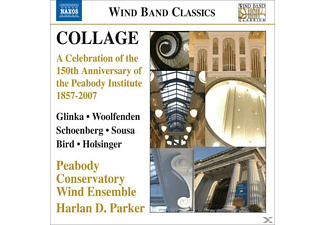 Peabody Conservatory Wind Ensemble, Parker/Peabody Conservatory Wind Ensemble - Collage-A Celebration Of The 150th Anniversary - (CD)
