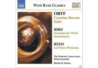 Peabody Conservatory Wind Ensemble, Parker/Peabody Wind Ensemble - Carmina Burana Suite/+ - (CD)