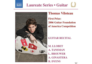 Thomas Viloteau - Gitarrenrecital - (CD)